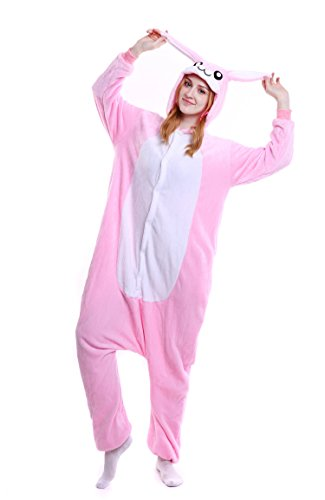 Jual Bunny Animal Costume Pajamas Adults Sleepwear Kigurumi Cosplay ... c2de159ec