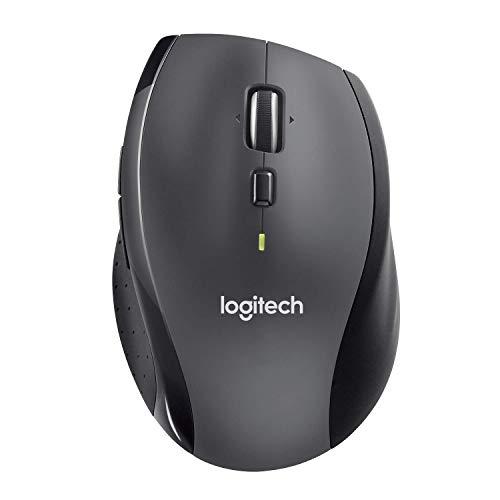 Logitech M705 Marathon Wireless Mouse – Long 3 Year Battery Life, Ergonomic Sculpted Right-Hand Shape, Hyper-Fast…