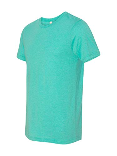 Bella + Canvas Mens 3.4 oz. Triblend T-Shirt (3413C) -SEA GREEN -XL ()