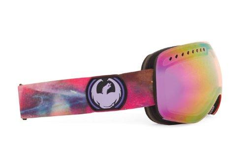 Dragon Alliance APXs Aurora Goggles (Multi, Pink Ionized), Outdoor Stuffs