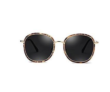 NHDZ Gafas De Sol, La Versión Coreana, Anteojos De Sol Polarizados, Redondo Cara