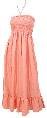 Women's LA Peach One One Dress Size Beach Tube Size p915 Dress LEELA q1qWxRrT