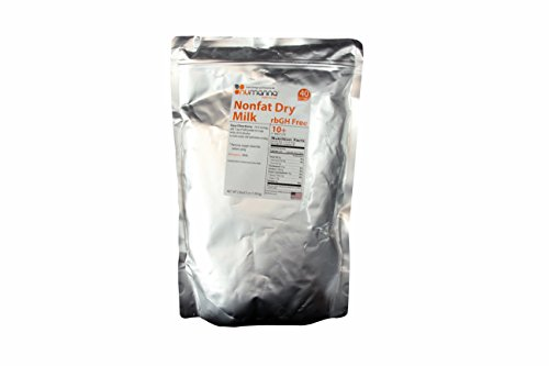 nfat Dry Milk Powder 40 Serving Pouch. 10+ Shelf Life Condensed Powdered Milk - rbGH Free (Nonfat Dry Milk Powder)
