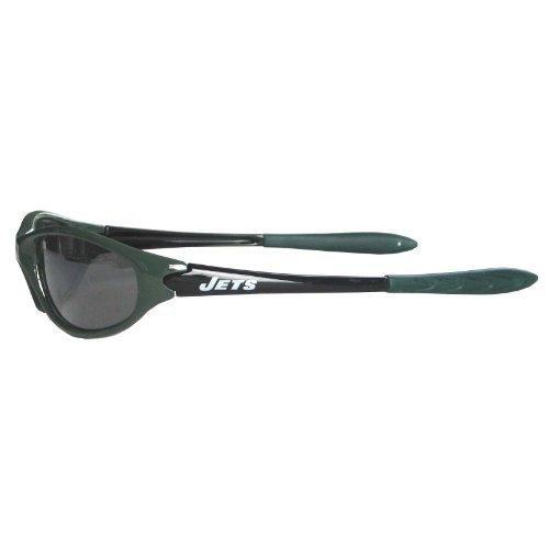 NFL New York Jets Sleek Wrap Sunglasses