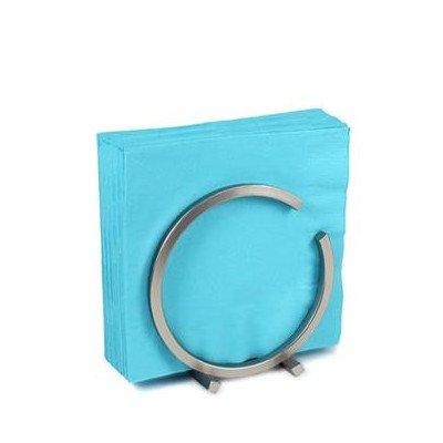 Euro Square Napkin Holder Color: Satin Nickel