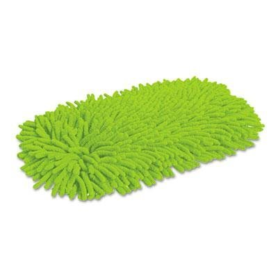 Quickie HOME PRO SOFT & SWIVEL DUST MOP REFILL, MICROFIBER/CHENILLE, GREEN, 6 CT