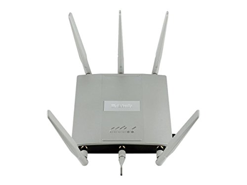 D-Link Systems Wireless AC1750 Simultaneous Dual Band Plenum-Rated PoE Access Point (DAP-2695) by D-Link