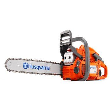 "Husqvarna 450 20"" Bar X-Torq 2-Stroke Gas Powered Chain S..."