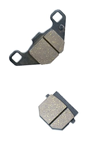 (CNBK Front Brake Pad Semi Met fit for SUZUKI Street Bike AH50 AH 50 Adress CA1GA G094 92 &up 1992 &up 1 Pair(2)