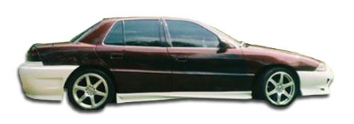 Duraflex Replacement for 1992-1998 Pontiac Grand Am 4DR Vader Side Skirts Rocker Panels - 2 -