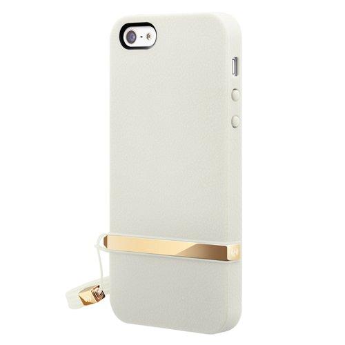 Lanyard Cream Case für Apple iPhone 5 weiß