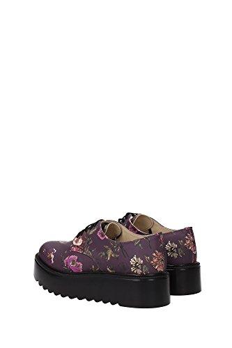 pour à violet aubergine ville femme Aubergine de lacets Chaussures Pinko XUCqWx7tPw