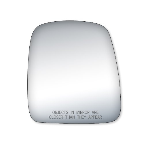 Mirror 07 Chevy Express (Fit System 90219 Passenger Side Replacement Mirror Glass)