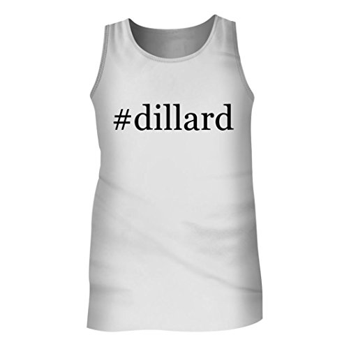 Tracy Gifts  Dillard   Mens Hashtag Adult Tank Top  White  Xx Large