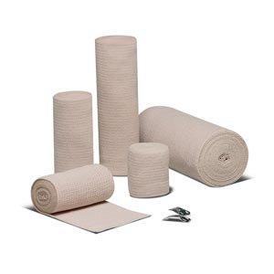 Hartmann 16400000 Rib Reinforced Elastic Bandage, Latex-Free, 4