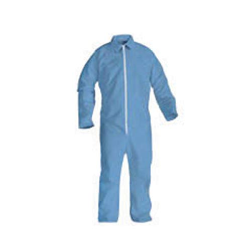Kimberly-Clark Professional 4X Blue KleenGuard A20 SMMMS Disposable Breathable Particle Protection Bib Overalls/Coveralls-1 Each