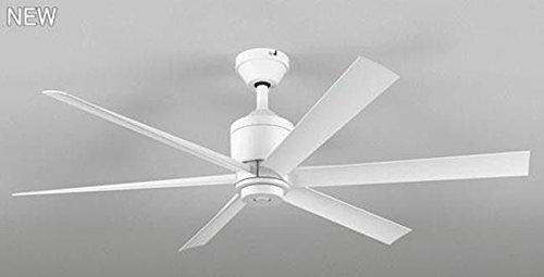 オーデリック シーリングファン ホワイト 軽量 DCモーター大風量 リモコン 簡易取付 【OLF-002】 B07GKZDYK8