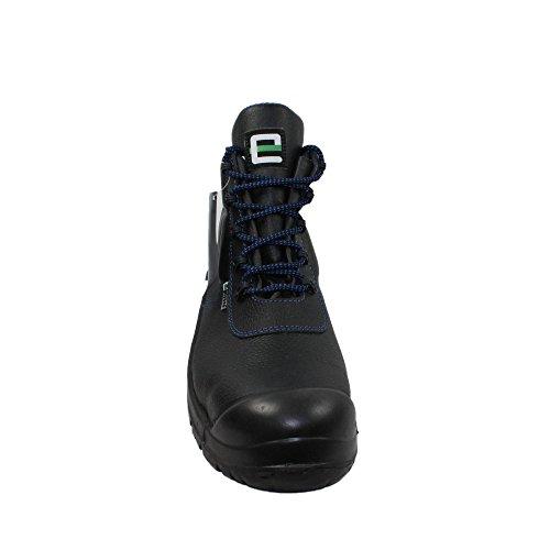 Elysee - Calzado de protección de Piel para hombre Negro negro Negro - negro