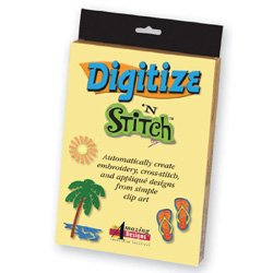 Amazing Designs Digitize N Stitch Software