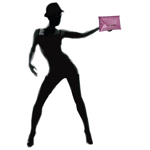 CASPAR Fashion - Cartera de mano para mujer - rosa