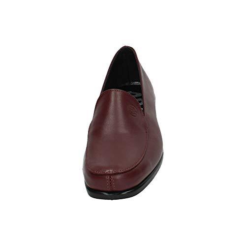 Mocasín De Horas Zapatos Piel Burdeos 48 Mocasines 43 820301 Mujer 8HxfPq6Ow