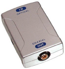 Koenig convertidor óptico – Adaptador coaxial RCA Optical Coax