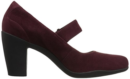 CLARKS Womens Adya Clara Dress Pump Burgundy lYGo0NX48