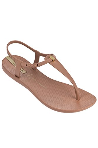 Ipanema Women's Premium Lenny Desire Flat Sandal, Brown/Tan, 7 M US]()