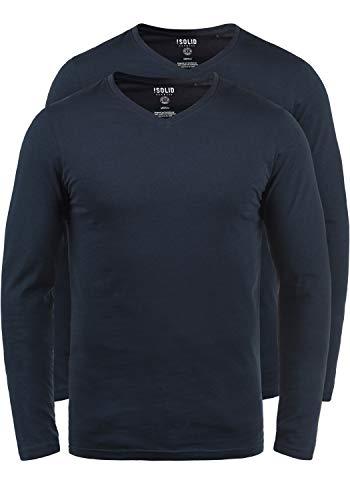 Man T con Basil lunghe Solid Insignia shirt maniche Blue 1991 w4q4C1xZY