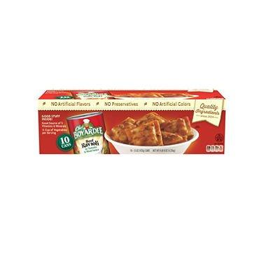 Chef Boyardee Beef Ravioli (15 oz. can, 10 ct.) (pack of 6)