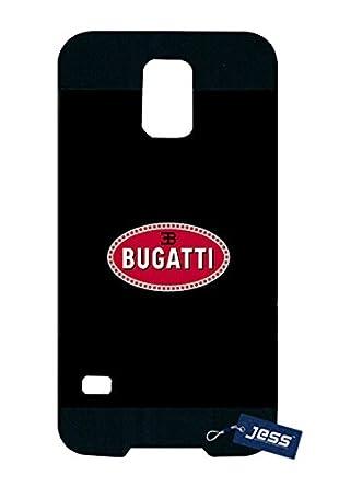 Samsung Galaxy S5 I9600 Caso Bugatti Veyron Logotipo De Golpes Para