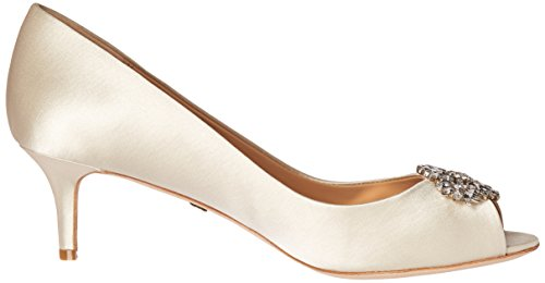 Badgley Mischka Womens Nakita Dress Pump Ivory