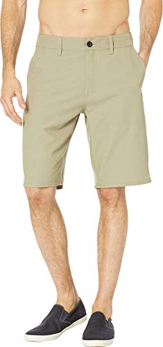O'Neill Men's Santa Cruz Hybrid Walkshorts Heather Khaki 32 ()