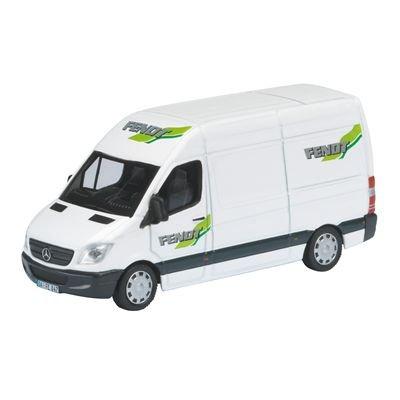 Schuco 452561600 - Furgoneta Mercedes Benz Sprinter, FENDDT, modelo coleccionista, escala 1:87: Amazon.es: Juguetes y juegos