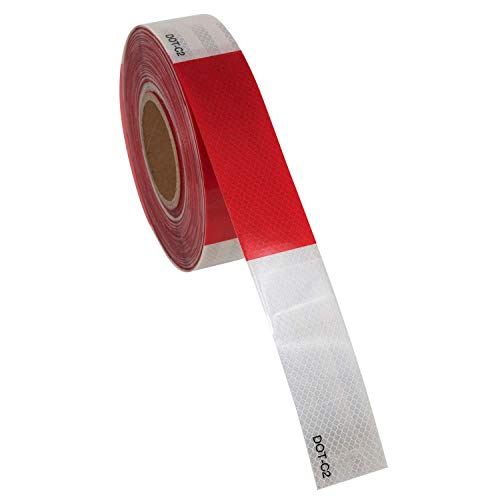 Houseables Reflective Tape Roll, DOT-C2, 150' X 2