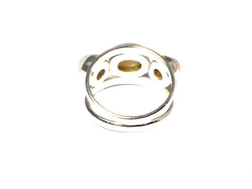 Qualité 'A' éthiopien Opal - Bague Femme - Argent 925/1000 - Taille 56 - (BOPR2010162) - Boîte Cadeau