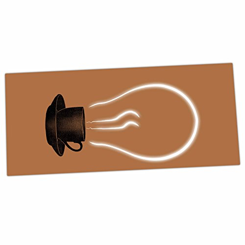 "KESS InHouse Digital Carbine ""The Power Of Coffee"" Brown ..."