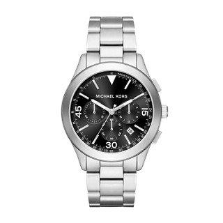 Michael Kors Men's Gareth Silver-Tone Watch - Michael Men Sale Kors