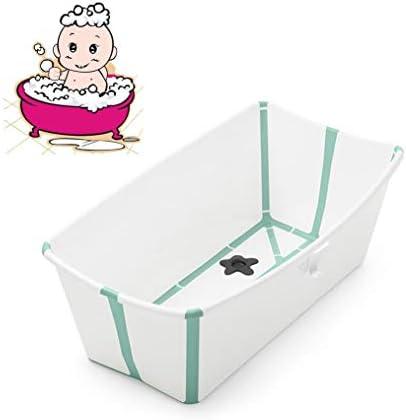 折りたたみバスタブ GYF 折りたたみ大人用浴槽 ベビープール ポータブルバスタブ 家庭用大型ポータブル浴槽 プラスチック ふた付き 2色子供用の大きなプール (Color : D)