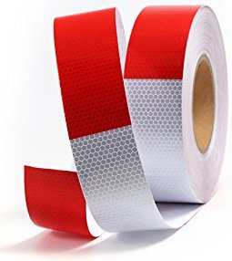 X50 waterproof self adhesive tape reflective Conspicuity reflectante