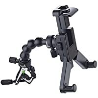 TAKEWAY R1S6 set includes R1 Clampod+T-FN01 flex neck/extend stick+T-TH01 tablet holder. Mini tripod, selfie stick, portable to camera, phone, tablet, action cam accessories, tablet stand in house.