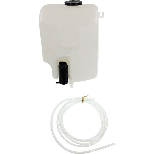 Windshield Washer Tank Compatible with Toyota Camry 91-93 Assy W/Pump And Cap W/ABS