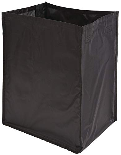 Hafele Laundry Hamper - Hafele Hamper Replacement Bags - Synergy Collection - Nylon - Black (W 10 1/2