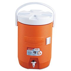 RHP1683ORG - Water Cooler, 12 1/2dia X 16 3/4h, Orange by Rubbermaid