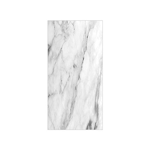 3D Decorative Film Privacy Window Film No Glue,Marble,Granite Surface Motif with Sketch Nature Effect and Cracks Antique Style Image Decorative,Grey Dust White,for Home&Office