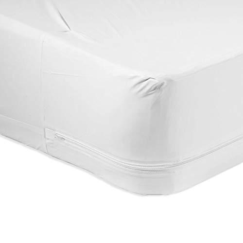 Linen Store Microfiber Zippered Mattress Cover