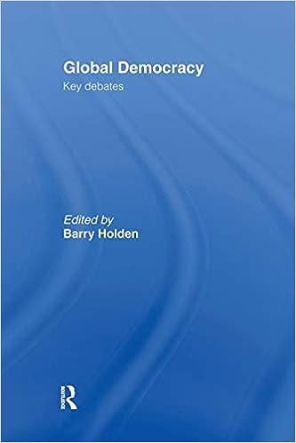 Global Democracy: Key Debates