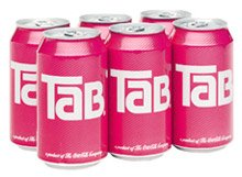 Tab Diet Soda 12oz Cans (Pack of 6) ()