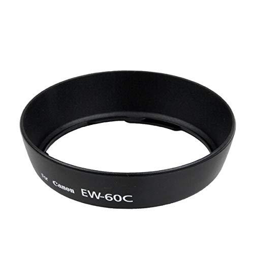 5pcs Black Camera EW-60C Lens Hood EW 60C EW60C Lens Hood for Canon 550D 600D 650D 500D 18-55mm/ 28-90mm/ 28-80mm