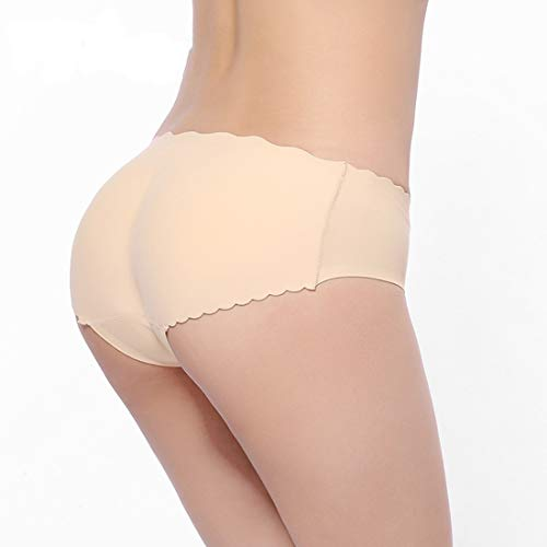 LY-VV Butt Lifter Hip Enhancer Panties Sexy Silicone Shapewear Underwear (XL(Hip:92-96cm), Fresh color-Cotton)